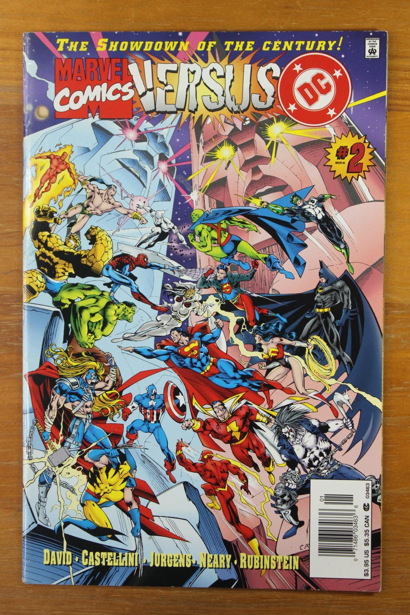 DC Versus Marvel Vol 1 # 1-4 Plus Green Lantern and Silver Surfer Vol 1 # 1