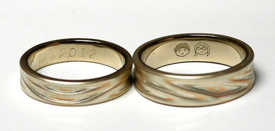 15 Most Unique Engravings On Wedding Rings