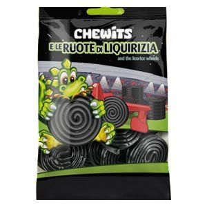 Chewits ruote di liquirizia 100g caramelle gommose | Online shopping store