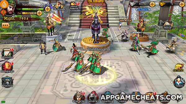 Kingdom Warriors Cheats Hack Tips For Silver Gold Action