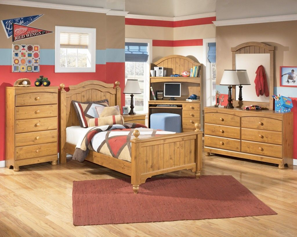 Boys Bedroom Sets with Desk  Toddler bedroom furniture sets, Kids