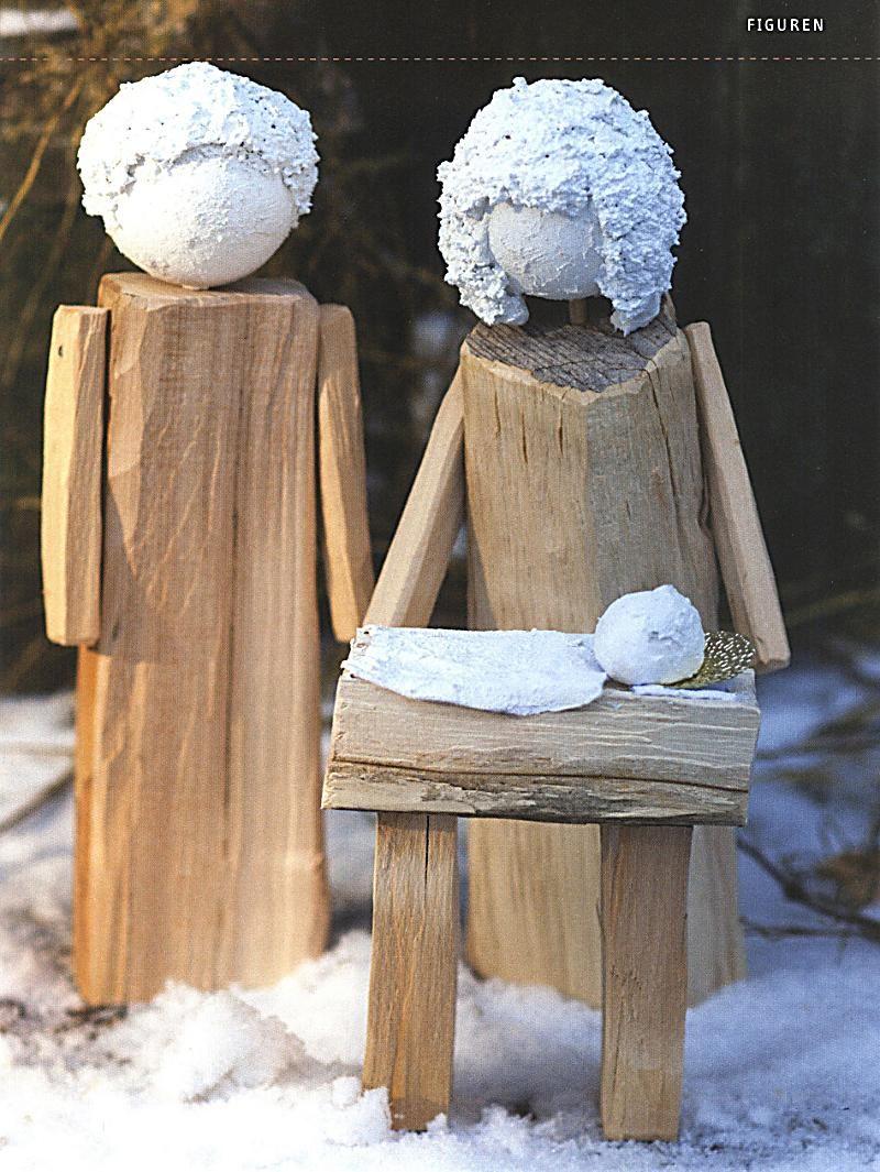 Kaminholz Figuren Basteln Google Suche Weihnachtsbasar