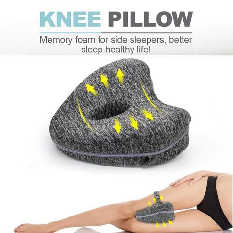 Memory Knee Pillow Leg Positioner Orthopedic Leg Cushion for Relief Knee Pain !!
