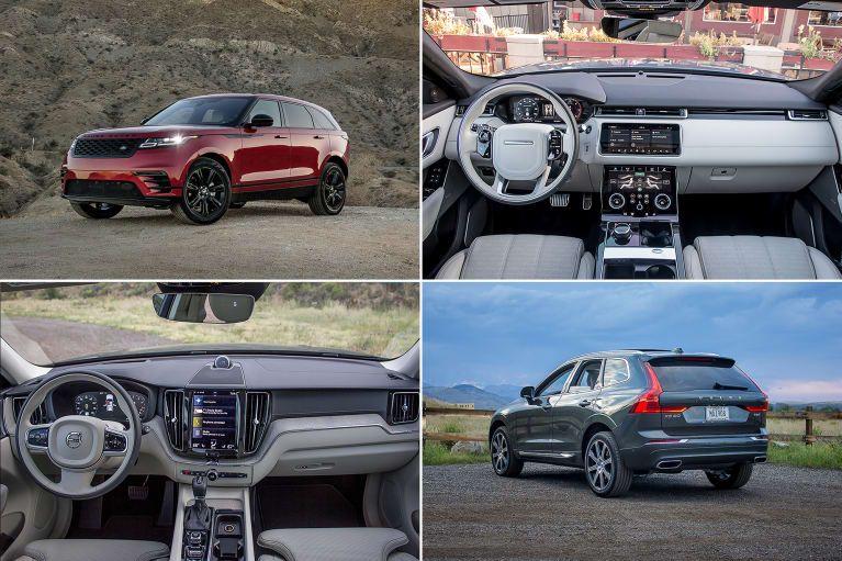 2018 Land Rover Range Rover Velar Vs. Volvo XC60 An