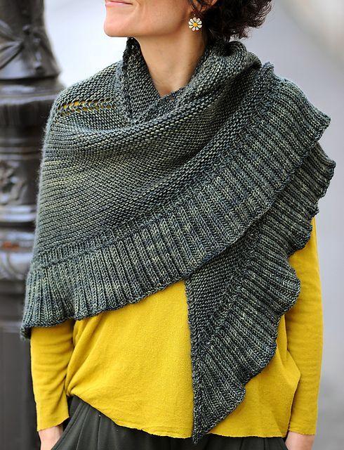 Mara - Free pattern   Knitting and crochet   Pinterest   Chal ...