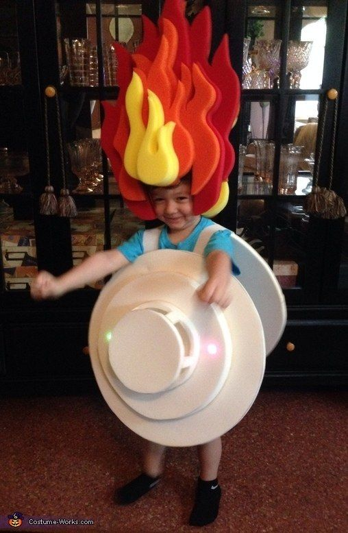 A smoke detector Sons, Kid costumes and Costumes - halloween kids costume ideas