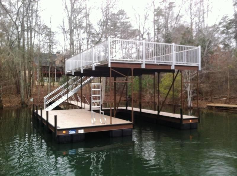 Steel Double Decker Dock Boat Dock Steel Dock Party