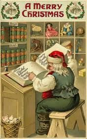 Postales de Navidad de la Vendimia