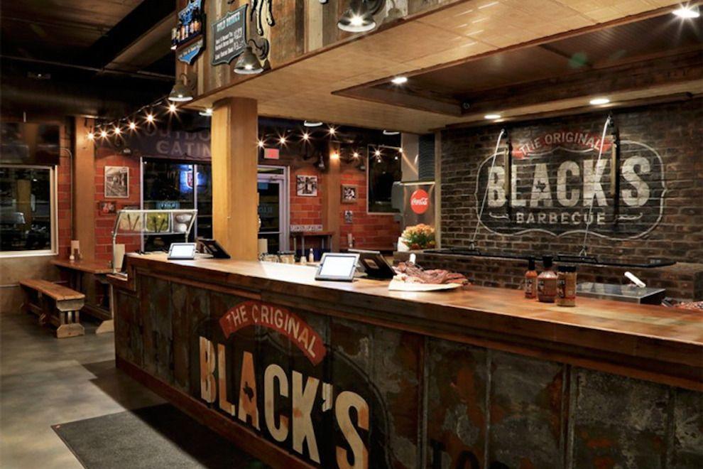 Black S Barbecue Bbq Restaurant Barbeque Design Steakhouse Design