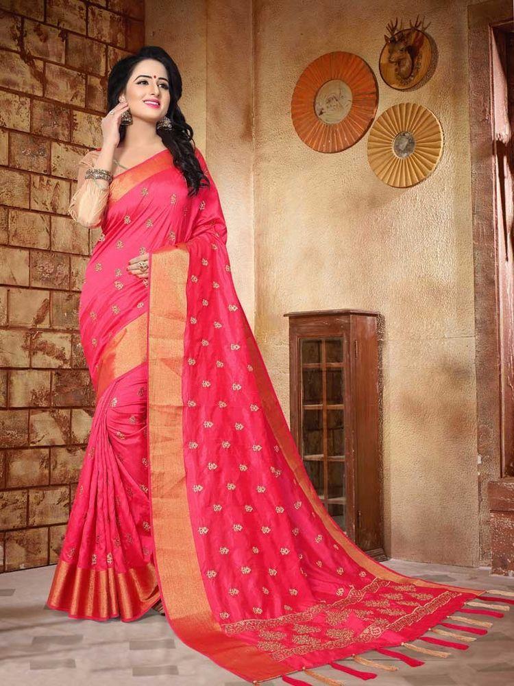 92ce505ccc #Designer #Indian #New Collection #Party wear#Silk Border work #Women Saree  #Blouse #Shoppingover #PartyWear