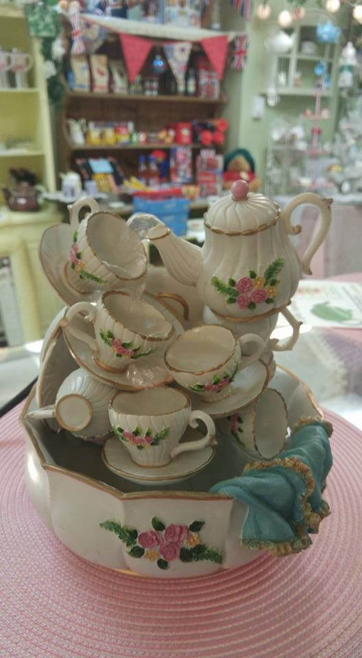 Tea Pot Cup Water Fountain Diy Water Fountain Diy Fountain Indoor Fountain