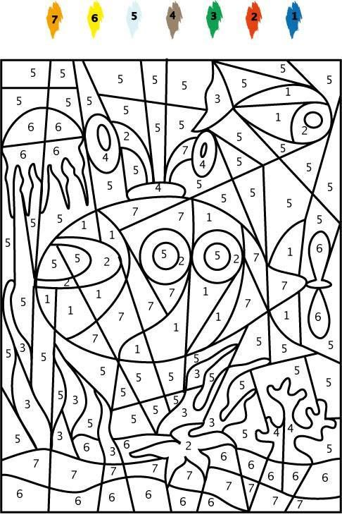 Sous Marin Alsh été Alphabet Coloring Pages Doodle Coloring Et