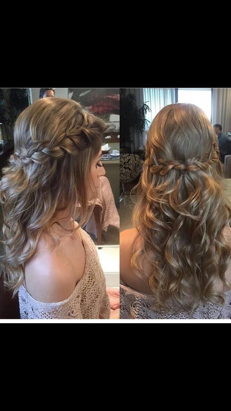Hairstyle for senior women beauty pinterest prom prom hair
