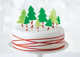 Image result for christmas cake decoration ideas red and ...