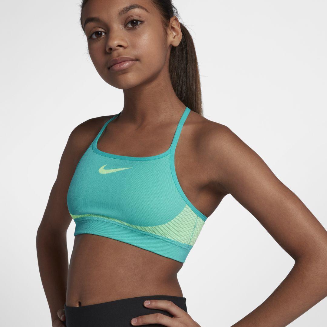 ee391a277 Nike Seamless Big Kids  (Girls ) Sports Bra Size XL (Hyper Jade)