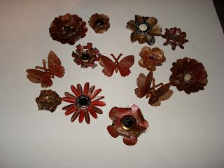 a creative operation punch art flowers tutorial from paper bags