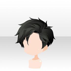 Short Black Hair Manga Hair