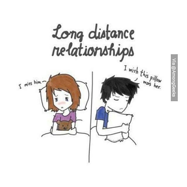 Among Geeks On Instagram Long Distance Relationship
