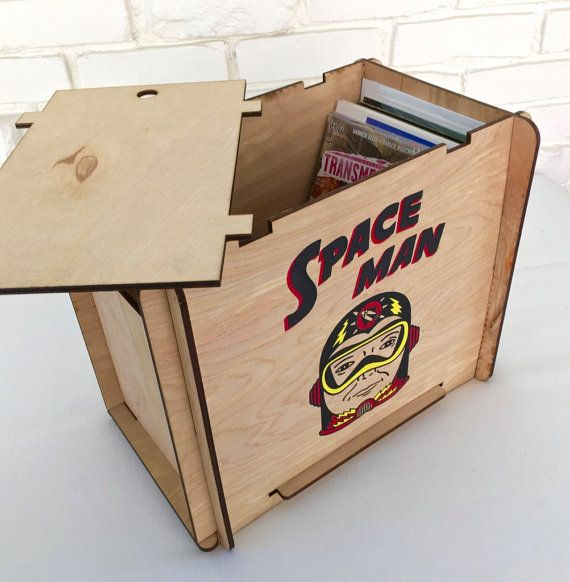 Comic Book Storage Box by RomanyHouse on Etsy | All things Frank ...