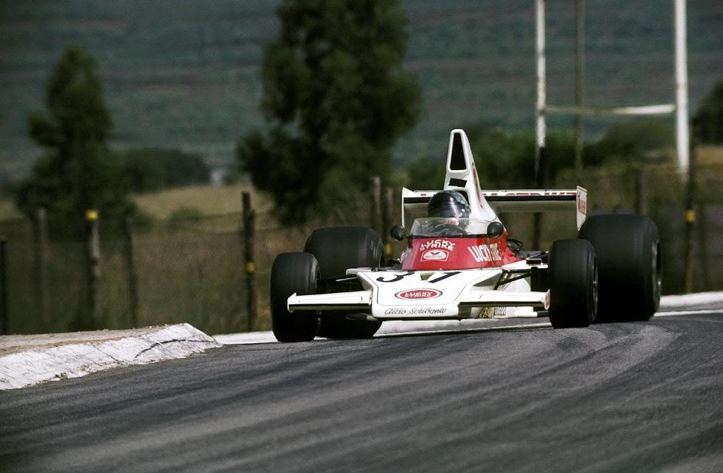Dave Charlton Lucky Strike Racing, McLaren M23, Kyalami ...