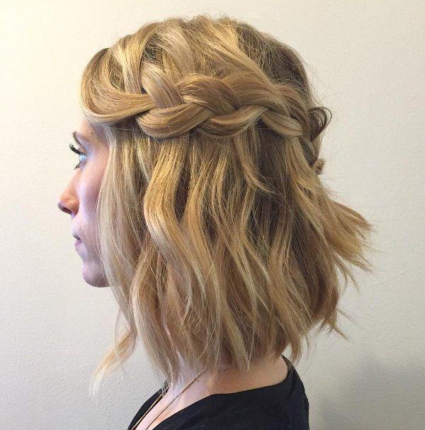 Wasserfall Frisur Kurze Haare 6 Wasserfall Frisur Flechtfrisuren Mittellange Haare Flechtfrisuren Kurze Haare