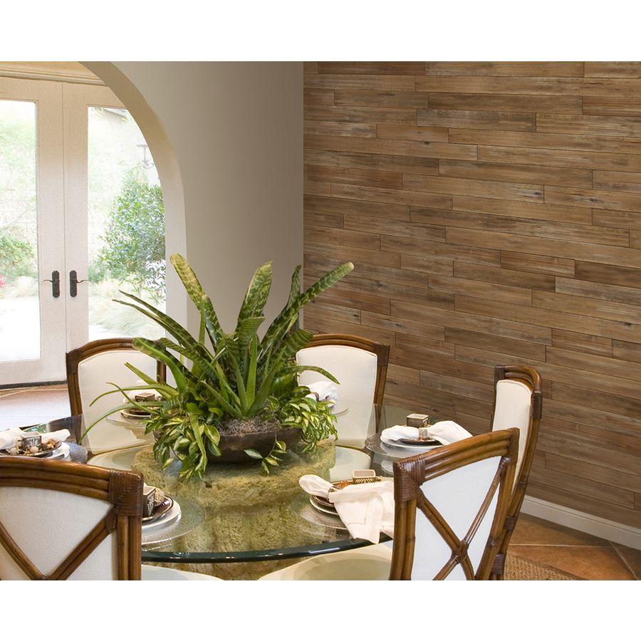 Cedar Accent Wall In Bathroom: Design Innovations Reclaimed 3.5-in X 4-ft Aged Cedar Wall