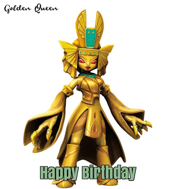 Skylanders golden queen birthday skylander birthday cards skylanders golden queen birthday bookmarktalkfo Choice Image