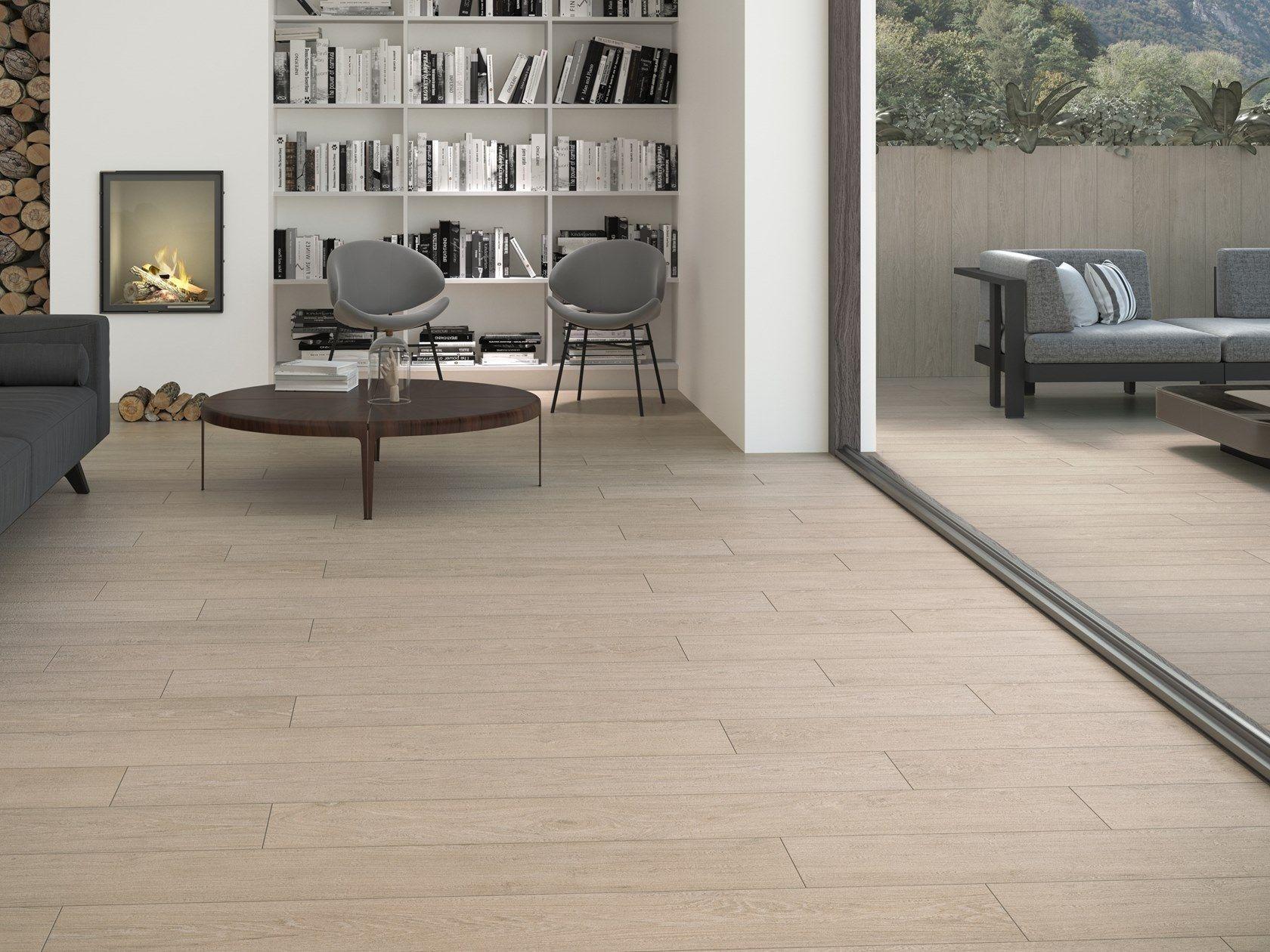 Indoor Outdoor Wall Floor Tiles With Wood Effect Essence By