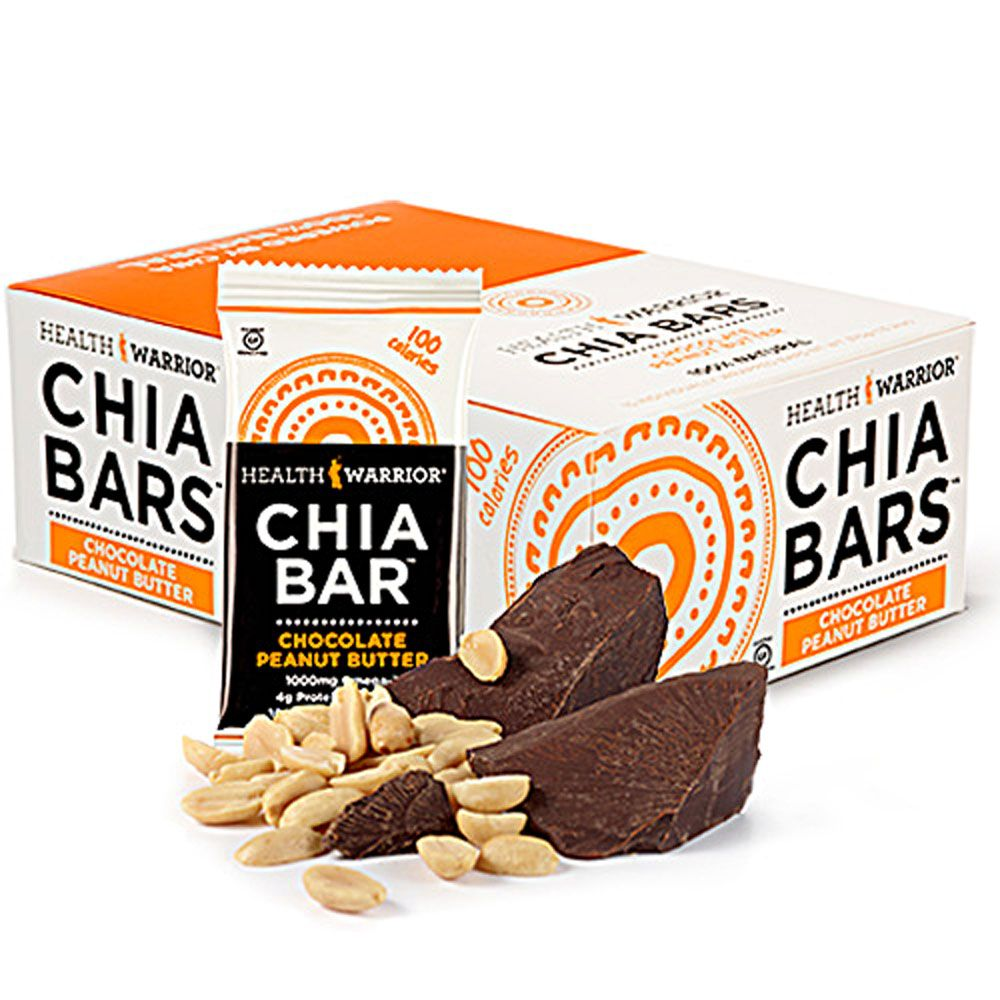 Health warrior chia bars gluten free vegan chocolate