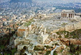 """Athens, number 2 on the """"To visit"""" list."""