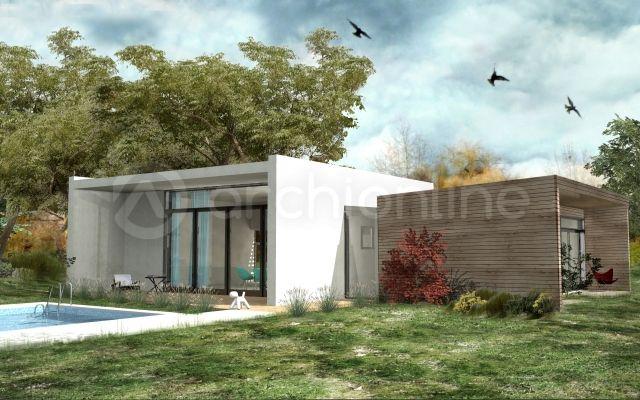 Maison Hove - Plan de maison Contemporaine par Archionline