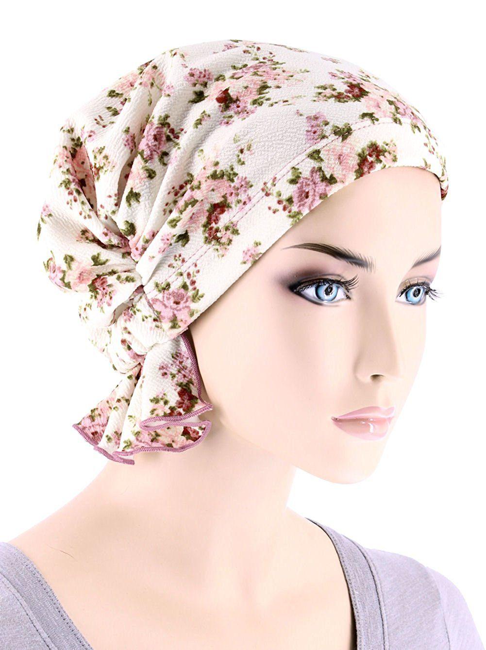 casquillo de las mujeres Abbey Chemo sombrero Beanie bufanda ...