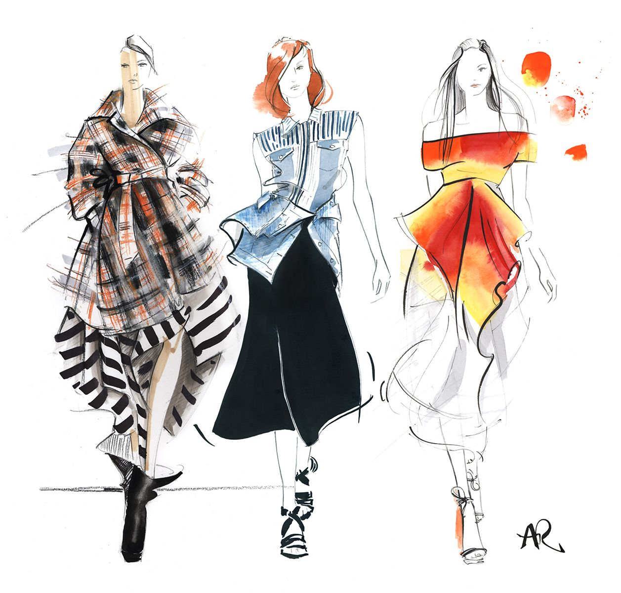 fashion illustration This course is a practical course in fashion illustration where students are  exposed to techniques and skills through demonstration and then practicing  example.