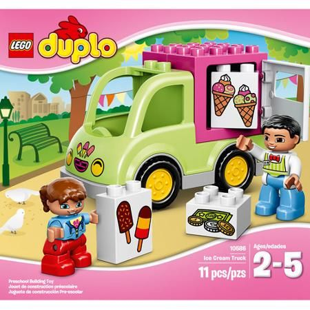 Lego Duplo Town Ice Cream Truck Walmart Com Gift Ideas For Alix
