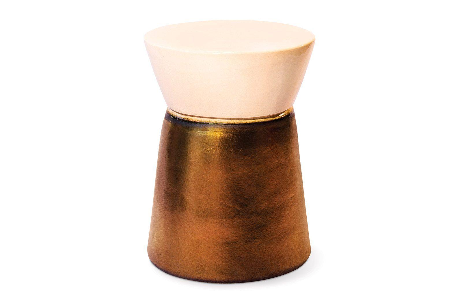 Ceramic Cork Stool Accent Table Seasonal Living Cork Stool Accent Stool Ceramic Furniture