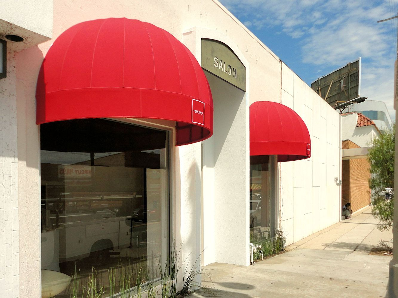 Attention Getting Bright Red Dome Awnings By Superior Awning In Southern California Superiorawning Com Custom Awnings Window Awnings Awning