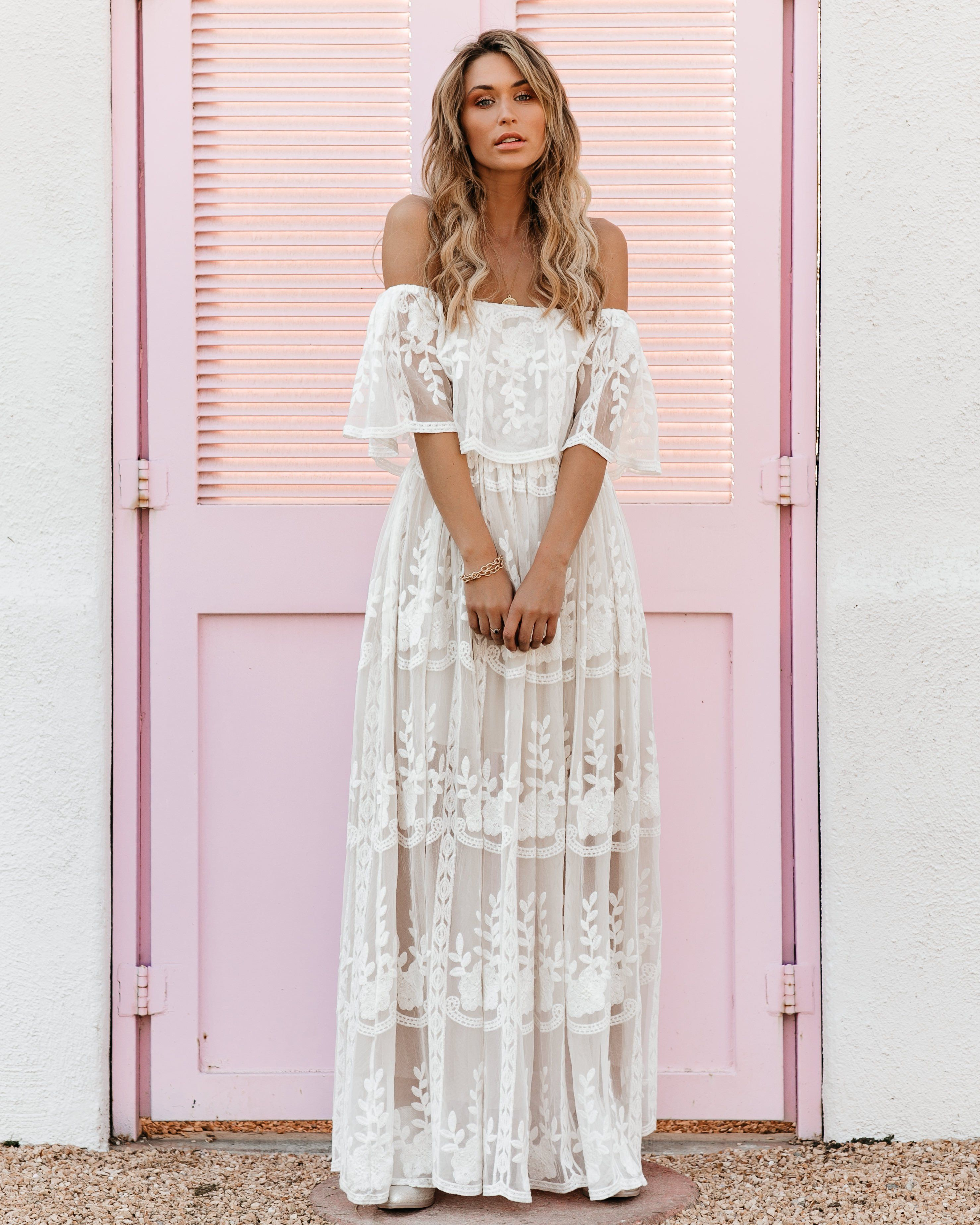 Preorder Our Together Is Forever Off The Shoulder Lace Maxi Dress Lace Maxi Dress Maxi Dress White Lace Maxi [ 3696 x 2957 Pixel ]