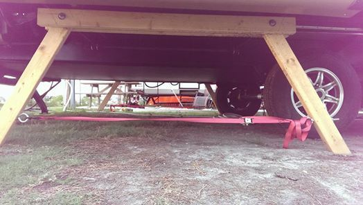 DIY Slide Stabilizers | Camper ideas | Rv trailers, Rv camping, Diy