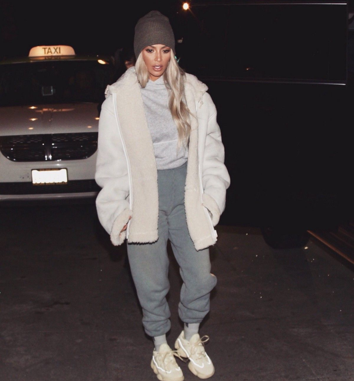 ebcfd4ebae5c0 ICYMI Yeezy Mud Rat 500 Preview via Kim K ...