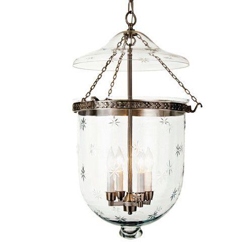 Found It At Wayfair 4 Light Extra Large Bell Jar Foyer