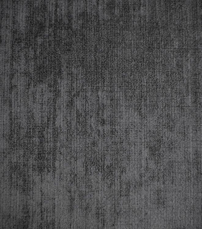Charcoal Grey Velvet Upholstery Fabric Assisi 2035