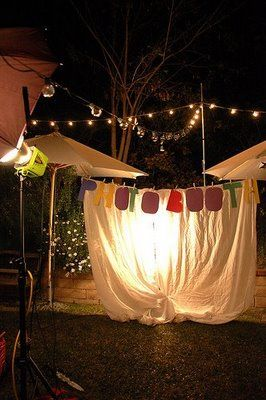 Photo Booth Spotlight For Nighttime With Images Homemade