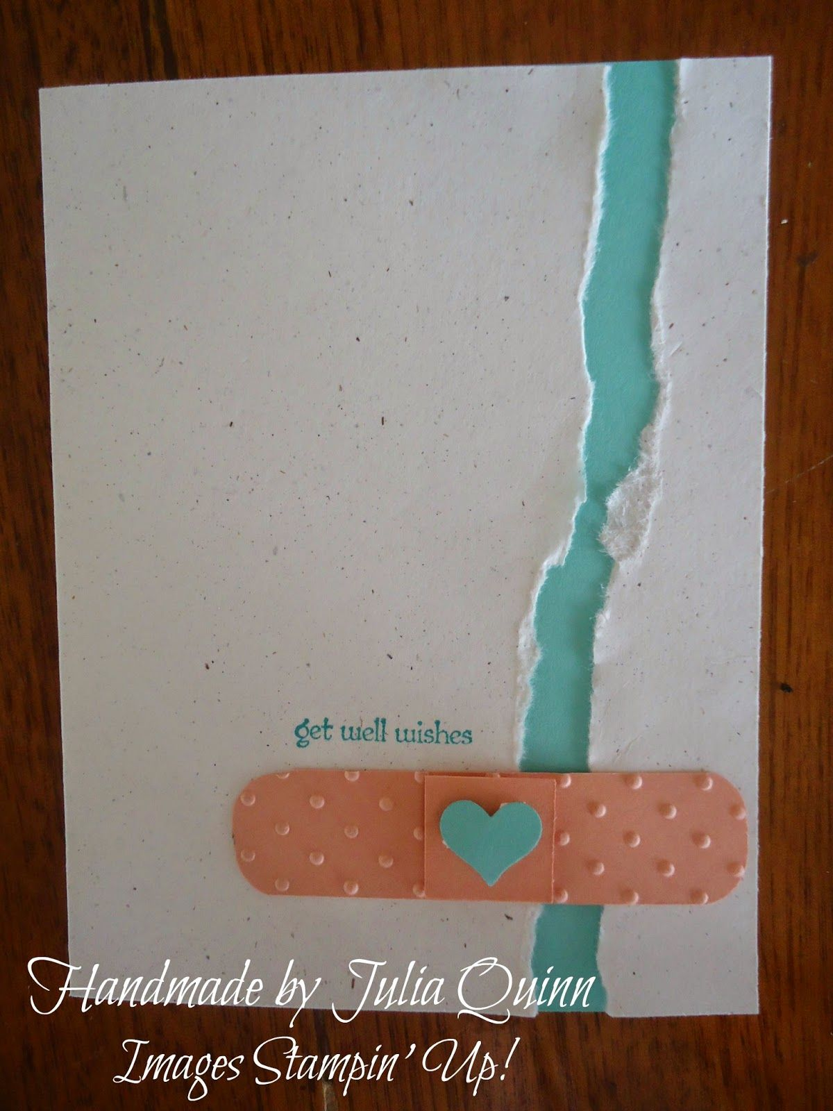 handmade by julia quinn - independent stampin' up! demonstrator: get