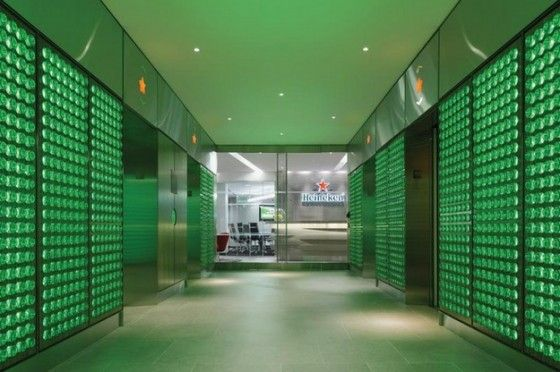 Heineken headquarters in nyc we like office interiors pinterest heineken office - Heineken amsterdam head office ...