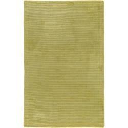 Photo of benuta Naturals Viskoseteppich Lines Grün 200×290 cm – Moderner Teppich für Wohnzimmer benuta