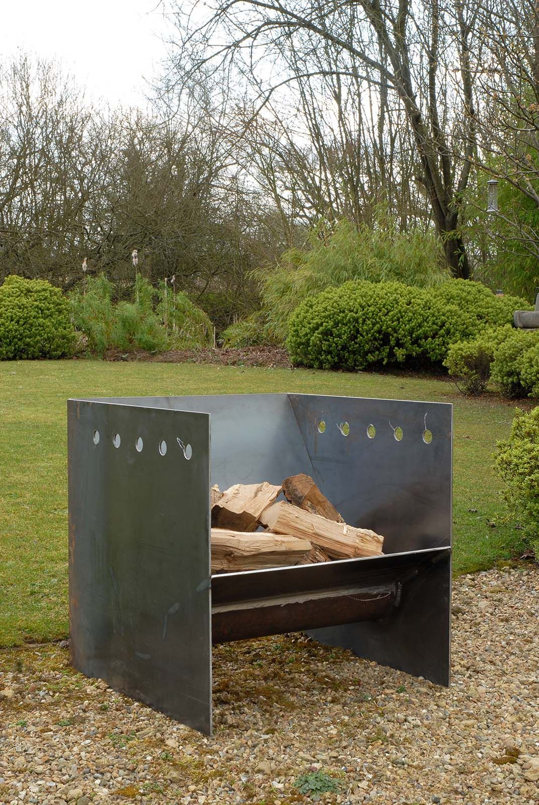 Estufas Para Exteriores Superchunk Fire Pit From Magmafirepits Durable 5mm Steel