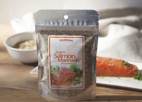 Organic Salmon Marinade Original Blend - 2 oz