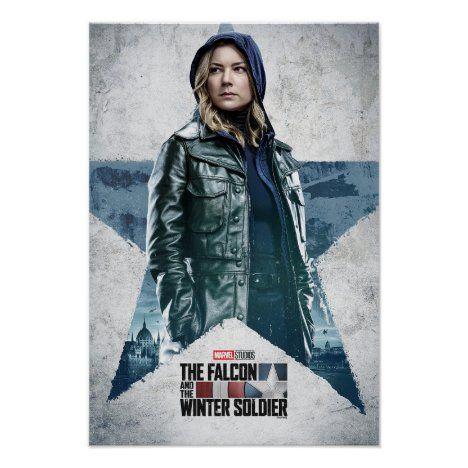 Sharon Carter Worn Star Poster