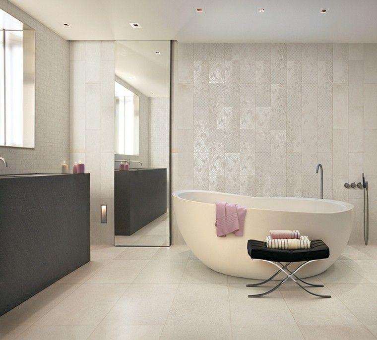 Azulejos para baños modernos - cien ideas geniales | Cuarto de baño ...