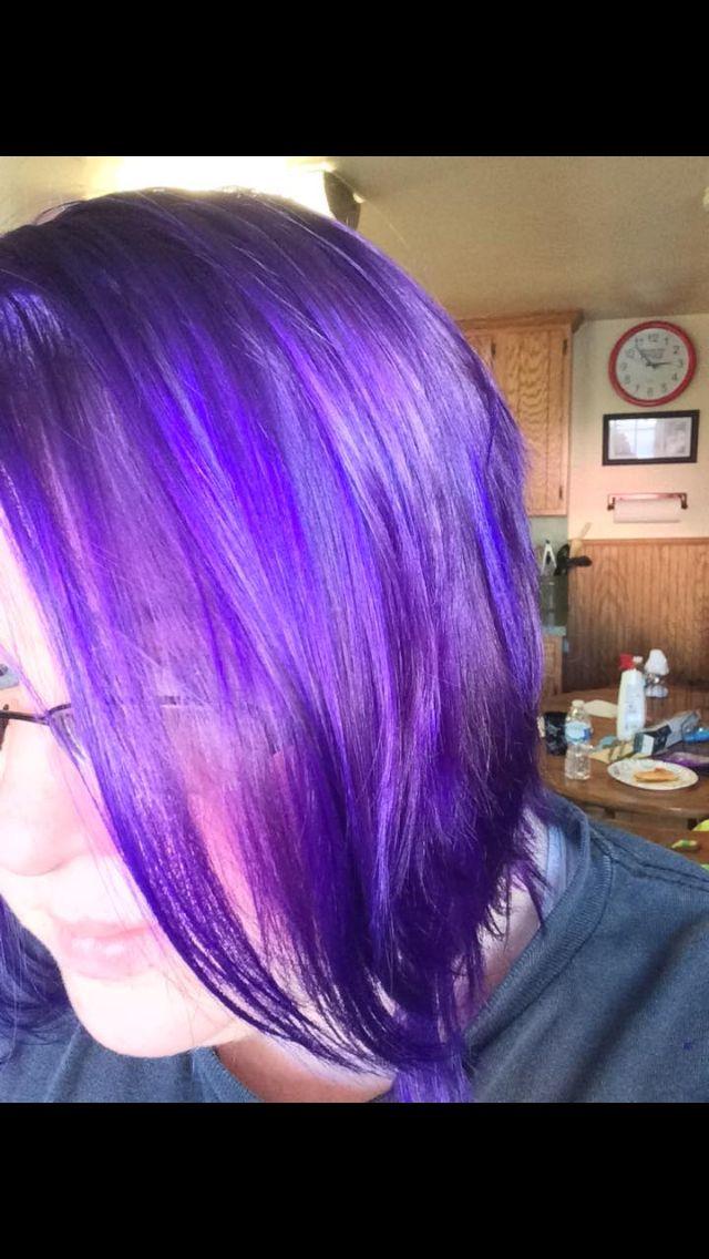 Gentian Violet Hair Colors Pinterest Hair Coloring